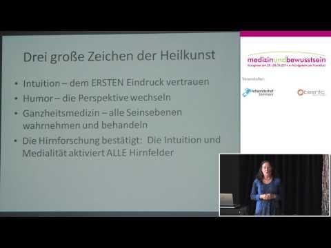 1/2: Dr. phil. Rosina Sonnenschmidt: Intuition + Humor - psychosoziale Kompetenz in der Therapie