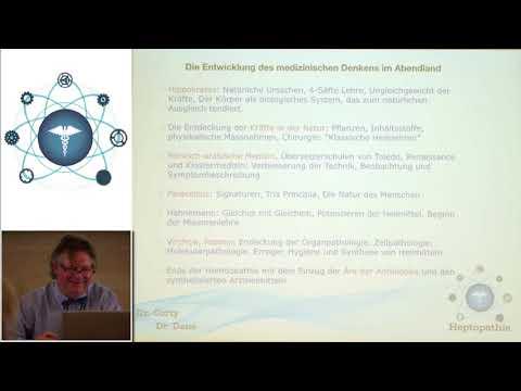 1/2: Dr.Friedrich: Organon 7 - was würde Hahnemann nach dem heutigen Stand der Erkenntnis schreiben?