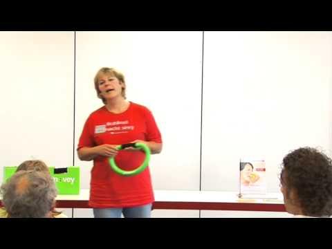 1/3: Viviane Mößmer: Bewegung in Ihr Leben mit Rohkost-Wandern und Smovey-Vibration