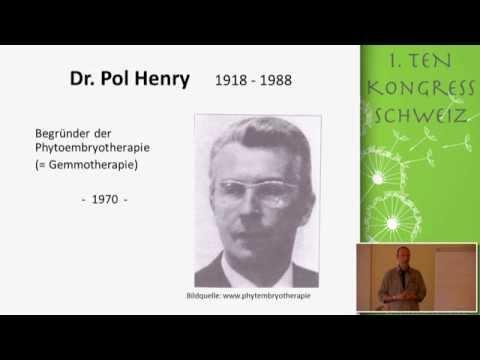 1/2: Louis Hutter: Gemmotherapie zur Behandlung von Mikrozirkulationsstörungen