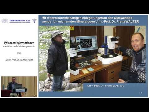 1/2: Prof. Dr. Helmut Hartl: Pflanzeninform. messbar u. sichtbar gemacht - ein energ. Phänomen