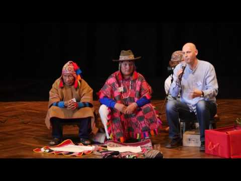 1/2: Don Martin Q. Machacca & Don Lorenzo Ccapa Apaza: Willkommens-Despacho-Ritual
