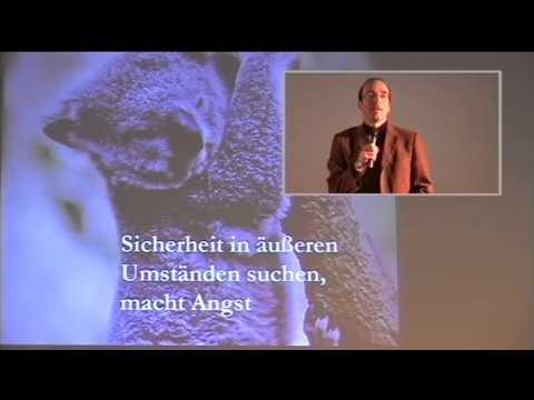 1/4: Dr. Joachim Schneider: Wahre Sicherheit kommt von innen, nicht Geld