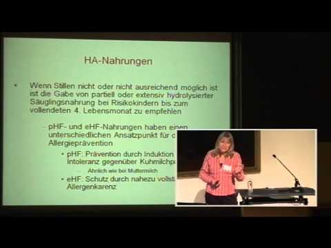 Birgit Schäfer: Allergieprävention mit Ernährung - alles ganz anders?