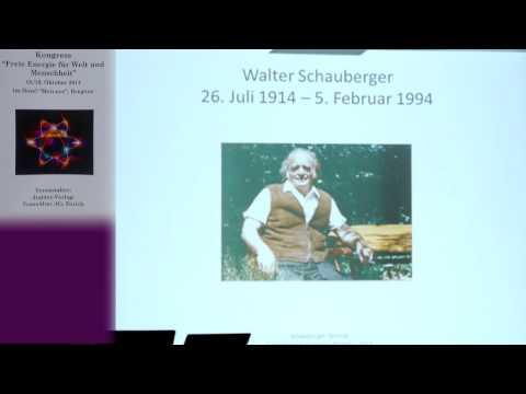 1/2: Jörg Schauberger: Die Schauberger-Technik - Die Natur kapieren und kopieren!