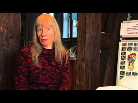1/2: Annette Winkler: Fußzonenmassage