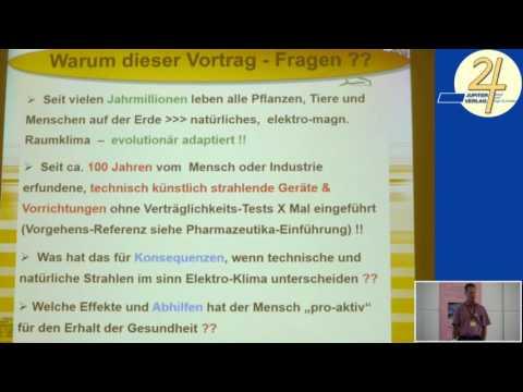 1/2: Dr. Florian König: Neutralisation von E-Smog mit Zwei-Kammer-Röhre und Schönwettergerät