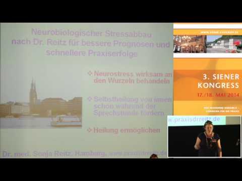 1/3: Dr. med. Sonja Reitz: Neurobiologischer Stressabbau für bessere Prognosen