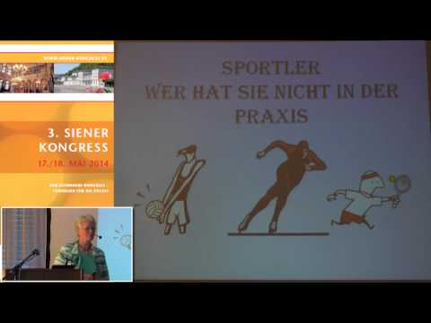 1/2: Ina Ter Harmsel: Sportler in der Praxis - wer hat sie nicht