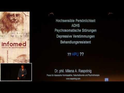 1/2: Dr. Milena Raspotnig: Hochsensible Persönlichkeit - ADHS - Psychosomatische Störungen ...