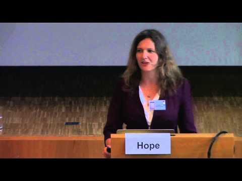 1/2: Dr. Janette Hope: Evaluation zunehmender Krebsrisiken - Umwelt und individuelle Risikofaktoren