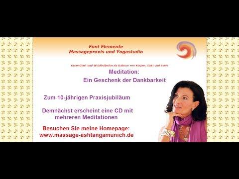 Renate Gezzele: Meditation - Ein Geschenk der Dankbarkeit