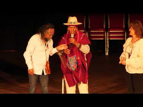 1/2: Don Jorge Ramos: Schamanische Früh-Demonstration