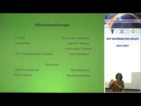 Vortrags-Auschnitt | Manuelle Therapie | Altlasten loslassen durch Microkinesitherapie | Gudrun Mik
