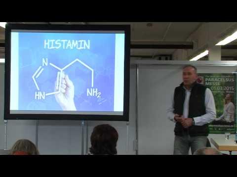 1/2: Dirk Fricke: Histamin - ein biochemischer Botenstoff - mal lebensnotwendig, mal lästig