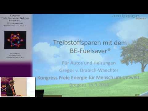 1/2: Gregor von Drabich: Treibstoffsparen bei Autos und Heizungen mit informiertem Metallstift