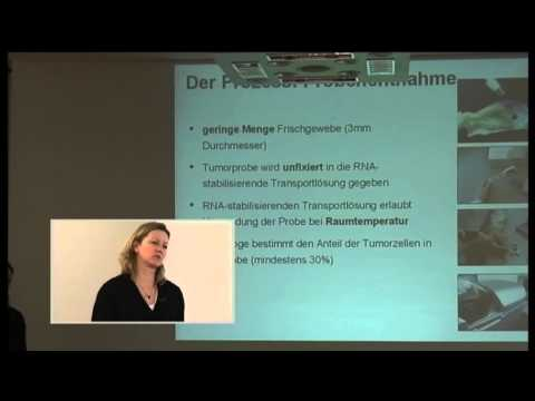 Teil 1/2: Dr. Iris Simon: From bench to bedside:diagnostische Tests bas. auf Microarraytechnologie