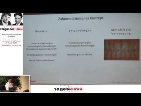 1/2: Dr. Holger Scholz: Metallfreie Sanierung - der optimale Beitrag zu nachhaltiger Gesundheit