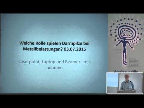 1/ 2 Dr. Med. Walter Wortberg: Welche Rolle spielen Darmpilze bei Metallbelastungen?