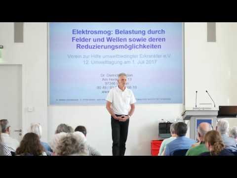 1/2: Dr. Dietrich Moldan: Elektrosmog - Belastung durch Felder und Wellen und Reduzierung