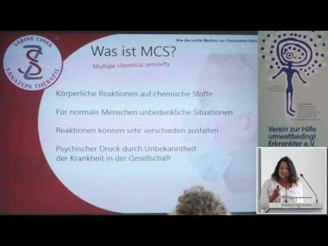 1/2: Sabine Linek: MCS - oder wenn die Umwelt krank macht