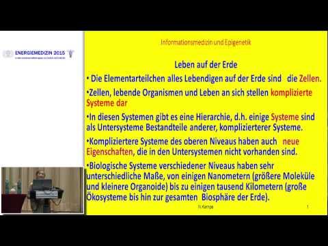1/2: Dr. Noemi Kempe: Epigenetik und Energiemedizin