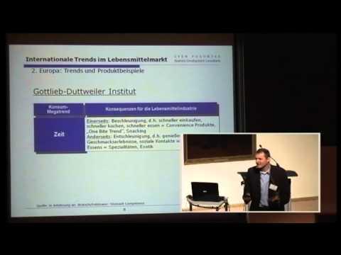 1/4: Sven Poguntke: Internationale Trends auf dem Lebensmittelmarkt
