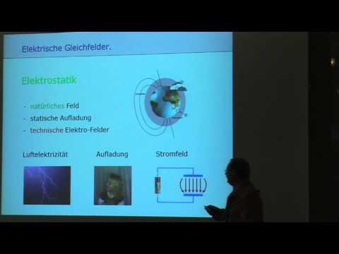 1/4: Wilbert Kronisch: Elektrosmog visualisieren und unter messtechnischer Kontrolle entstören