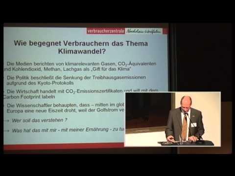 Teil 1/2: Bernhard Burdick: Klimafreundlich ernähren - wie geht das überhaupt?