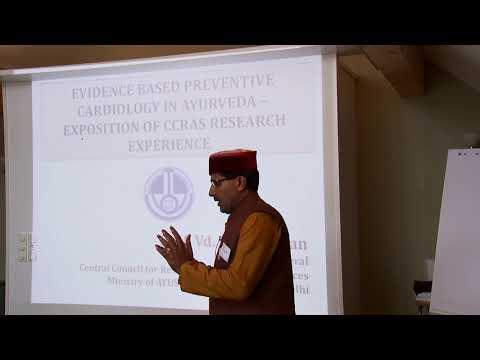 Dr. K. S. Dhiman: Präventive Kardiologie im Ayurveda - Erfahrungsbericht aus der CCRAS Forschung