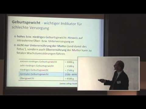 Prof. Dr. Clemens Kunz: Pränatale Prägung des Stoffwechsels