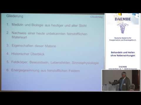 1/4: Dr. Klaus Volkamer: Die lebendige Feinstofflichkeit - ein neues Weltbild für Medizin und Physik