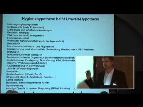 1/2: Dr. Volker von Baehr: Immunologische Effekte als Verursacher Umweltmedizinischer Krankheiten