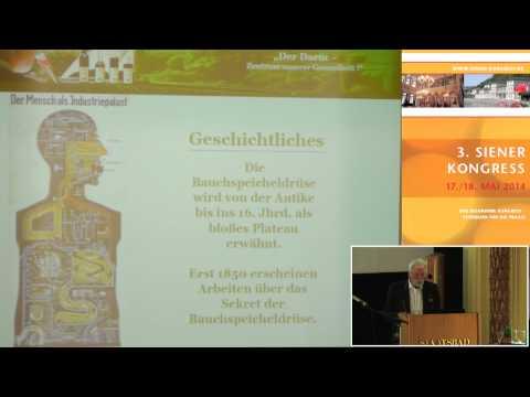1/3: Udo Lamek: Die Bauchspeicheldrüse - das vergessene Organ