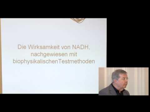 1/5: Dr. med. Theo Klein: Nachweis der Wirksamkeit von Coenzym-1 (NADH) mit dem Biofeldtest