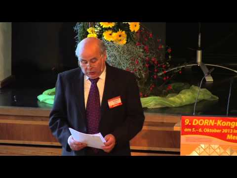 1/4: Wolfgang Rother: Wechselwirkung von Energiefeld und Dorntherapie.
