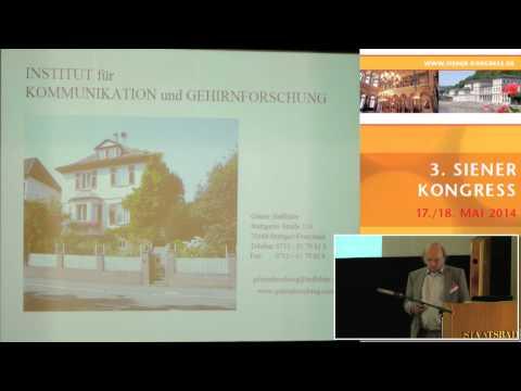 1/3: Günter Haffelder: Neue Erkenntnisse aus der Gehirnforschung