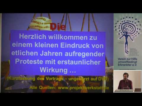 1/3: Jörg Bergstedt: Agrogentechnik - Rückschau auf Felder, Gelder und Aktionen