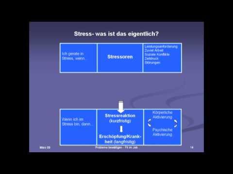 Teil 1/2: Dr. Annette Wald: Probleme bewältigen - Fit im Job - Ein Gruppentherapieprogramm