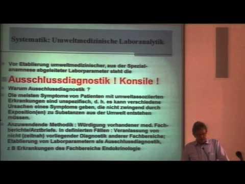 1/3: Dr. Frank Bartram: Innenraumschadstoffe und MCS