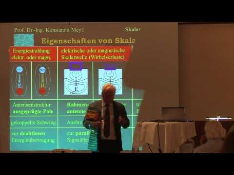 Prof. K. Meyl: Lesen und Schreiben von Erbinformation über magnetische Skalarwellen