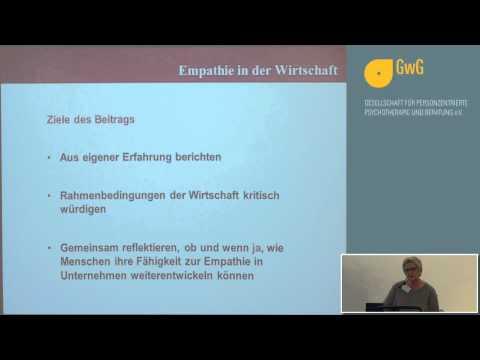 1/3: Dr. Cornelia Seewald: Empathie in der Wirtschaft - Verstehen und Verständigung