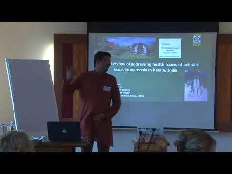 1/2: Ashtavaidyan Narayanan Nambi: Die Behandlung von Tieren (Elefant und Kuh) - Ayurveda in Kerala