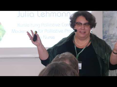 Vortragsausschnitt | Pflege | Lebensqualität in der letzten Lebenszeit - Achtsamkeit | Julia Lehmann