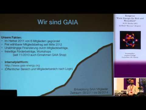 1/2: Roberto Reuter, Christoph Beiser: Konzepte des Vereins GAIA für die neue Zeit - mit Demos!