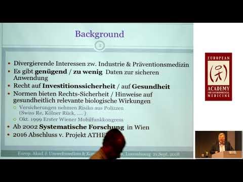 1/2: Prof. Dr. Wilhelm Mosgöller: In Richtung eines biologischen Mechanismus - EMFs