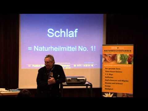 Teil 1/3: Dr. Robert Bachmann: Müdigkeit, Einschlaf- und Durchschlafstörungen