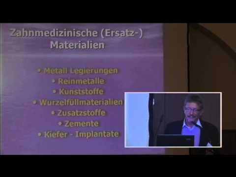 1/2: Dr. Frank Bartram: Erkrankungen durch Dentalwerkstoffe