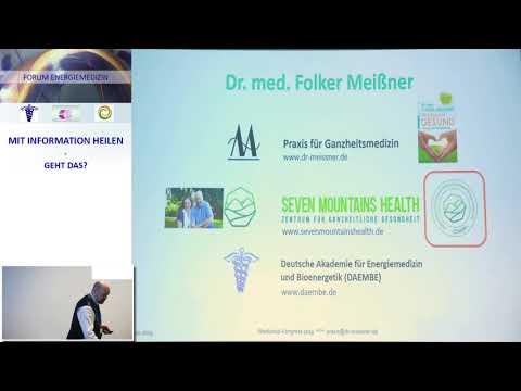 Vortrags-Ausschnitt | Energiemedizin | Mit Absicht gesund 2.0 | Dr. med. Folker Meissner