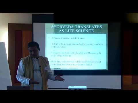 1/2: Dr. Ram Manohar: Traditionelle Ayurveda-Veterinärmedizin